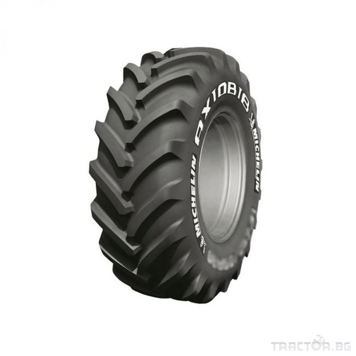 Гуми за трактори MICHELIN 710/75R42 176D TL AXIOBIB 0 - Трактор БГ