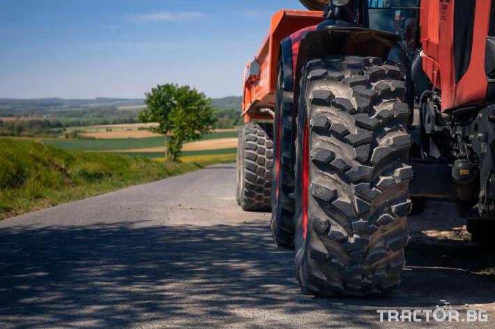 Гуми за трактори Nokian 540/65R30 155D/152E GROUND KING TL-ИНТЕЛИГЕНТНИ ГУМИNOKIAN TYRES INTUITUTM 8 - Трактор БГ