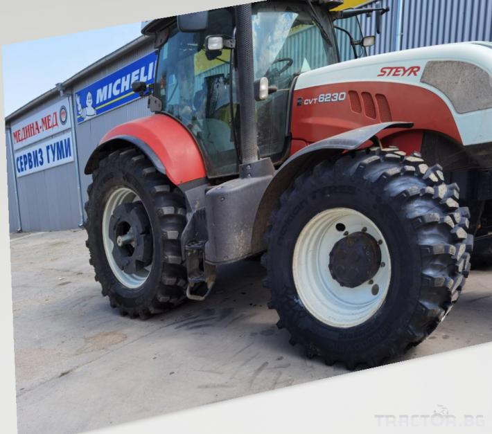 Гуми за трактори Nokian 540/65R30 155D/152E GROUND KING TL-ИНТЕЛИГЕНТНИ ГУМИNOKIAN TYRES INTUITUTM 0 - Трактор БГ